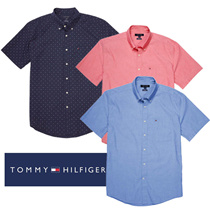 ★ Humiest ★ US Direct Shipping Tommy Hilfiger Man Men#39s Short Sleeve Shirt 3 Pieces
