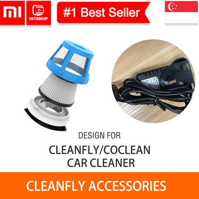 💖READY STOCK💖[XIaomi Cleanfly Power Adapter/Filter] Special design for Cleanfly Car Dust Cleaner