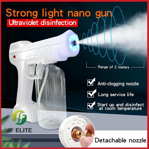 [S$25.90](▼57%)[JF ELITE]ANTI-VIRUS!PORTABLE NANO ATOMIZER !  Cordless Handheld Atomizer Sanitizer Sprayer!FAST CHARGE
