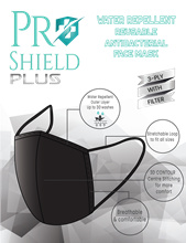 ProShield Plus Water Repellent Reusable Antibacterial Face Mask (2pcs/pack)