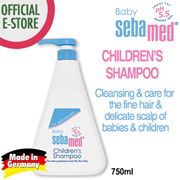Sebamed Children Shampoo 750ml [pH5.5 / tear free / paraben free/ gentle cleansing]