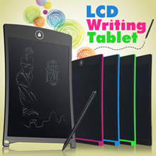 LCD Writing Tablet Write Board Portable eWriter Drawing Meeting Memo Notepad Office School Stylus