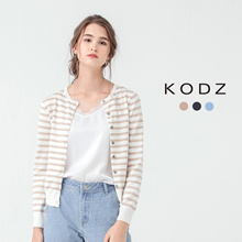 KODZ - Striped Cardigan-171755-Winter