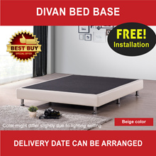 Divan Bed Base * Local Made Product * Single / Super Single / Queen / King * Free Delivery