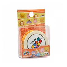 Disney Tsum Tsum Deco Border Sticker - Winnie The Pooh