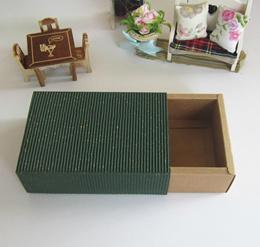Gift Box Handmade Carton Box Corrugated Paper box Drawer Style