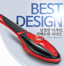 ** HIT**TV Shopping Steam Q2 Double Action Steam Iron/Double relief heat plate brush/Auto steam