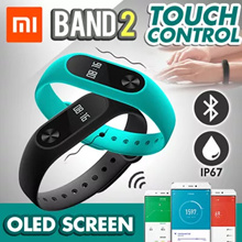 💖NO HIDDEN FEE💖 [Xiaomi Band 2] Original Xiaomi Mi Band Bracelet Wristbands  - 1stshop Singapore