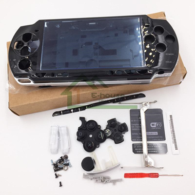 Housing Shell Full Sets for PSP 2000 High Quality Complete Shell Cover Case  with Button Kits for Son