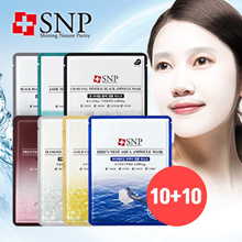 ❤[Buy 10 Get 10]❤  SNP Ampoule Masks! 7 Most Prestigious Ingredients