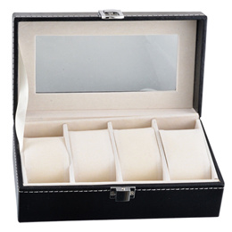 Brand New PU Leather Watch Display Case. 2 or 4 slots. Local SG Stock and warranty !!