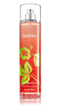 Bath and Body Works PEARBERRY Fine Fragrance Mist 8 fl oz / 236 mL