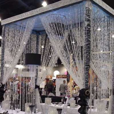 1 Roll 33FT 10meters Diamond Craft Decor Strand Acrylic Crystal Bead Curtain Wedding DIY Party