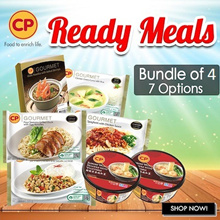 [CP Food] Choices Available! Ready Meals Any 4 for $16.90 !