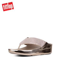 e2fbfa3e03214a FITFLOP CRYSTALL METALLIC ROSE GOLD ☆100% Authentic☆