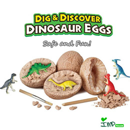 ★IMP HOUSE★CHIDRENS DAY GIFT STEM Toy Dig and Discover Dinosaur Egg Party Favor Educational Toy