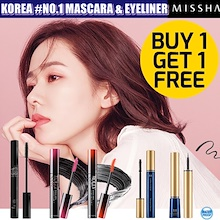 ★1+1★42% OFF★KOREA #NO.1 MISSHA MASCARA&EYELINER&CONCEALER COLLECTION★KOREA BEST MASCARA& EYELINER