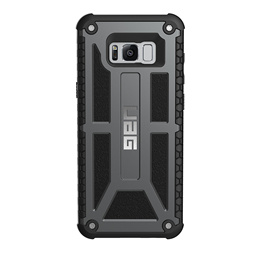 UAG Monarch Impact Resistant Case for Samsung Galaxy S8+ Plus Graphite/Black