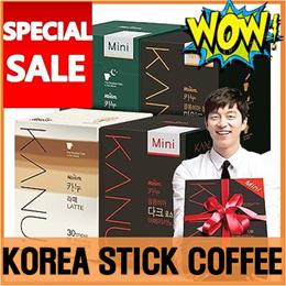 Korea Coffeemix KANU 30t / 50t dark mild / americano / latte / de-caffeine / Maxim instant COFFEE