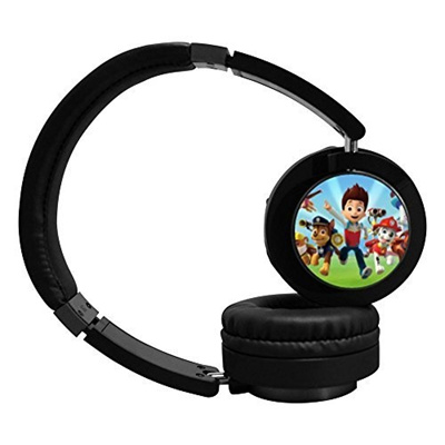 Moo U9 Paw Patrol Group Active Noise Cancelling Wireless Bluetooth Over Ear Stereo Headphones