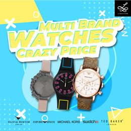 Crazy Clearance Multi Brand Watches for Men and Women