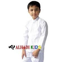 Baju Atasan Koko Muslim Lengan Panjang. Ukuran 8 s/d 13. Alhadi Kids