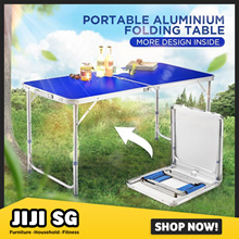 ★PORTABLE ALUMINIUM FOLDING TABLE Outdoor | Dining | Office ★Multi-Purpose Storage | Furniture★HDPE★