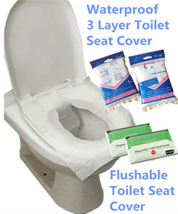 Anti-Bacterial Disposable Toilet Seat Cover Practical Hygiene