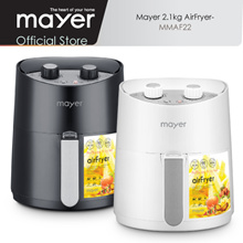 Mayer 2.1kg Air Fryer MMAF22 Black/White 1 Yr Warranty