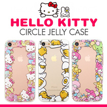 HelloKitty Friends Jelly★GalaxyS8/Plus/iPhone7/Plus/6S/S7/Edge/J7 Prime/A3/A5/A7/2017/2016/Note5/V20