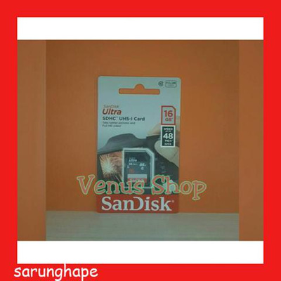 Sandisk Ultra SD Card 16GB Class 10 48MBPS ORIGINAL Guaranteed