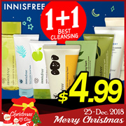 ★1+1★Qoo10 LOWEST PRICE★Innisfree★Cleansing Foam Best Line!★Cleanser / Oil / Cream [Beauti Topping]