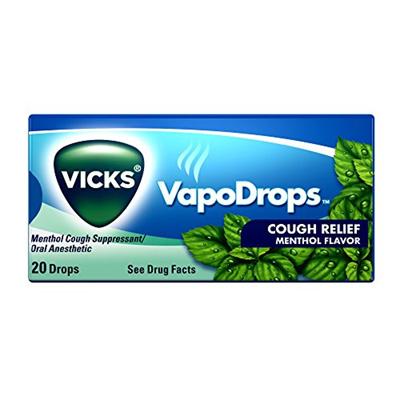 Qoo10 - Vicks VapoDrops Cough Relief Drops Menthol Flavor 20 Drops