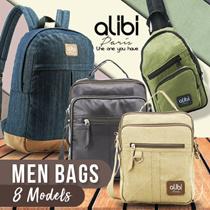 8 Models Men Bags - CLEARANCE SALE!! - Alibi Paris - Backpack -Sling bag-Free Shipping**