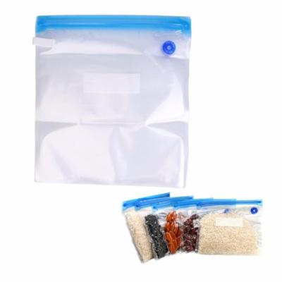 Reusable 5Pcs Kitchen Food Vacuum Saver Bags Sealer Storage Packing Pouch Case