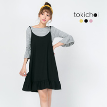 TOKICHOI - Frill Pinafore Dress-171826