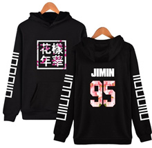 Kpop BTS 95 JIMIN Bangtan Boys High Quality Hoodie & Sweatshirt LongSleeved cotton BTS Fans Clothes