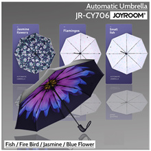 Joyroom Automatic Umbrella JR-CY706 (Fish/Fire Bird/Jasmine Flower/Blue Flower)