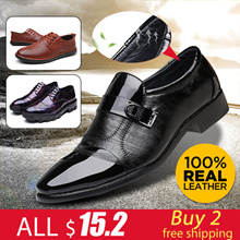 Mens Dress Shoes Cow Leather Shoes big size Casual Shoes plus size real leather winter boots Outdoor