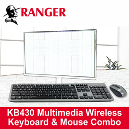 RANGER 2.4GHz Wireless Keyboard With 6-Key Mouse RG2ACKB430