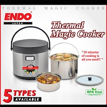 Endo Thermal Magic Cooker - 1.8LT / 2.5L / 3.5L / 5L / 7L