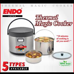 Endo Thermal Magic Cooker - 1.8LT / 2.5L / 3.5L / 5L /