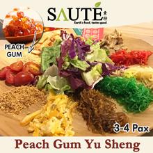 [ Saute ] Peach Gum Chinese New Year Yu Sheng 6-8 PAX