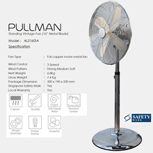 📣【11.11 SALE!!!】 PULLMAN® Turbo Force™ Air Circulator Fan 2018★More choices inside..