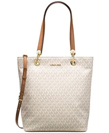 (Michael Kors) MICHAEL Michael Kors Raven Large North South Top Zip Tote-