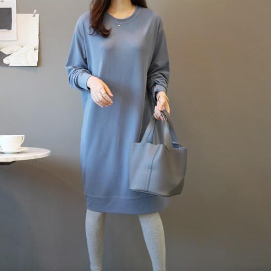 ガールズデイリーシーズニングベーシックワンピース 綿ワンピース/ 韓国ファッション