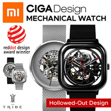 SG Local Pick Up-Anytime Xiaomi CIGA Design Hollowed-out Mechanical Watch Reddot Winner Stainless