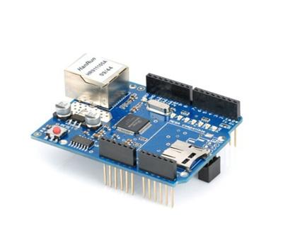 W5100 Ethernet Shield Für Arduino Board 2009 UNO ATMega 328 1280 MEGA2560 New