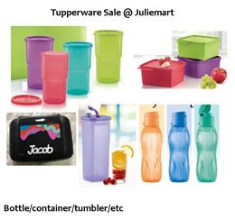 JULIEMART TUPPERWARE CONTAINERS / TUMBLER / FREEZER MATE LUNCHBOX BOTTLES
