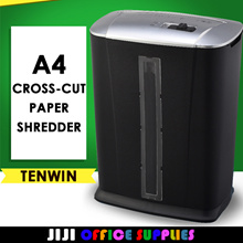 ★Amazing Tenwin Paper Shredder★ | Cross-Cut | Paper Cutter| Shredder| Cuts 6 sheets | Home Use